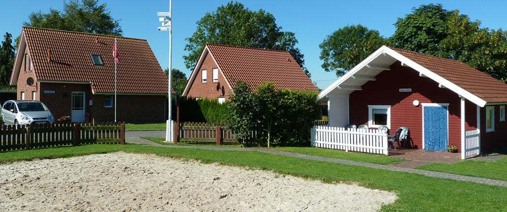 Willkommen in unseren Ferienhäusern am Rorichumer Tief!