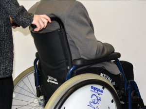 Bild eines Rollstuhls